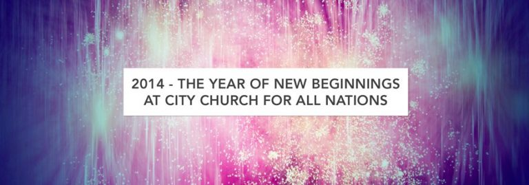 2014 – The Year of New Beginnings
